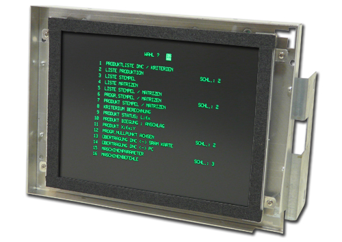 Replacement monitor for Cybelec CNC3200