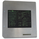 Industrial monitor for Cybelec DNC 30
