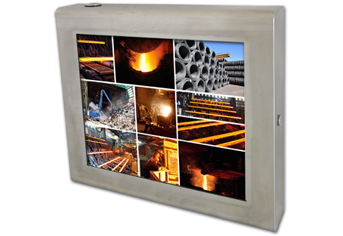 Panel PC for a rolling mill