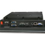 Anschlussbereich des Panel PC