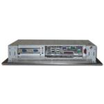 Anschlussbereich des Panel mount Panel PCs