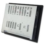 Rückseite des 19 Zoll Einbau Panel PCs