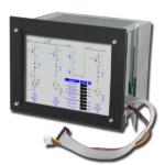 Industriemonitor Siemens WS 400-20
