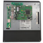 Rückseite des Industriemonitors für Cybelec DNC 800