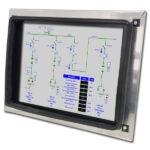 Industriemonitor für Index C200 CNC Maschine