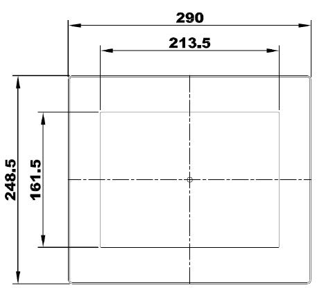 10-zoll-panel-mount-lizard-frontseite